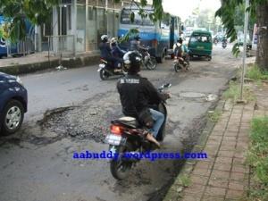 Kondisi Jl. Elang - Rajawali Barat Kota Bandung