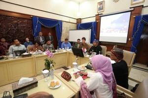 Suasana Saat Pertemuan Duta Besar AS Dengan Walikota Bandung