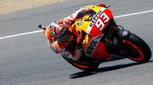 Aksi Marques di Jerez (motogp.com)